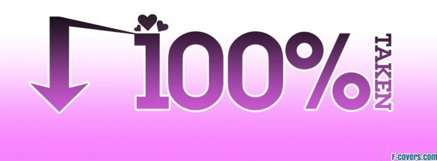 100 percent taken at profile pic facebook cover
