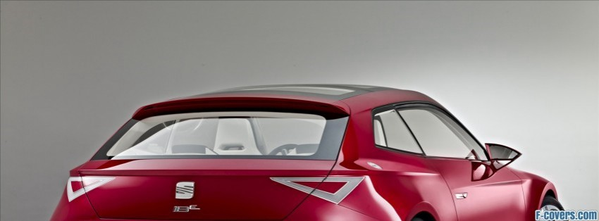 2010 Seat Ibe Paris Concept Facebook Cover Timeline Photo Banner For Fb