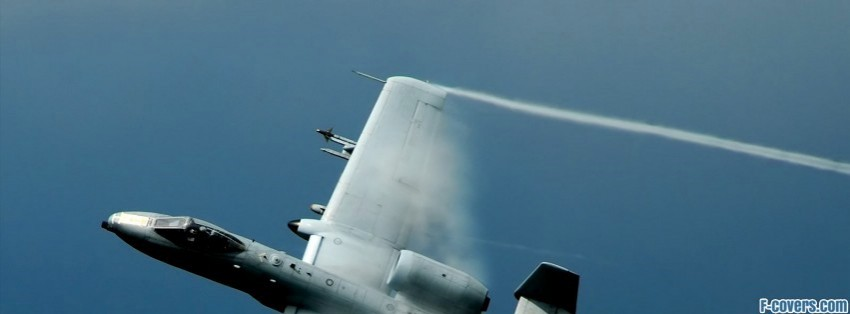 a 10 military aircraft facebook cover