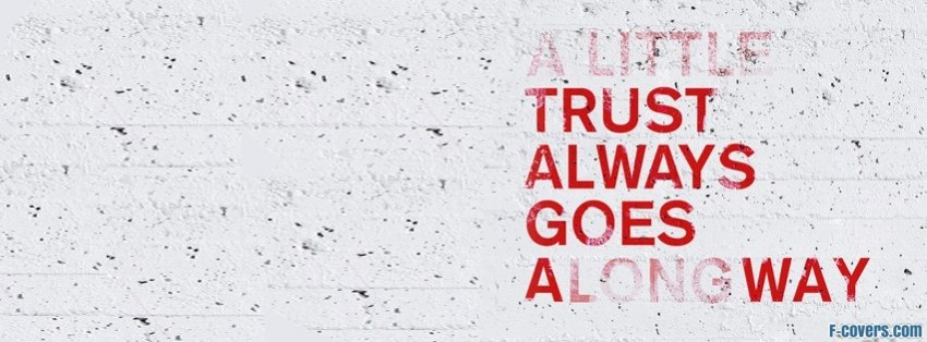 a little trust facebook cover