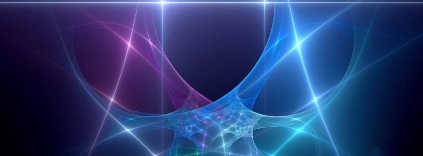 abstract lines facebook cover