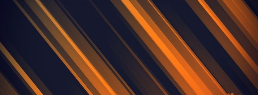 abstract orange stripes facebook cover