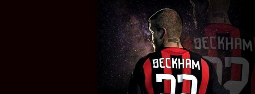 ac milan beckham facebook cover