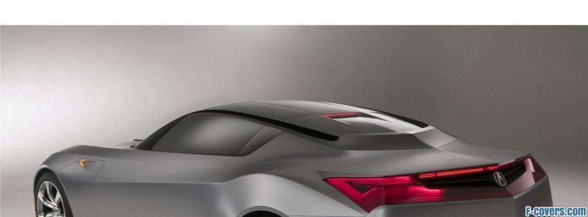 Acura Advanced Sports Car Concept Facebook Cover