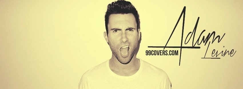 adam levine facebook cover