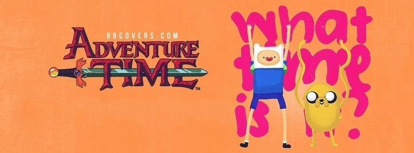 Adventure Time With Jake And Finn 2 Facebook Cover Timeline Photo