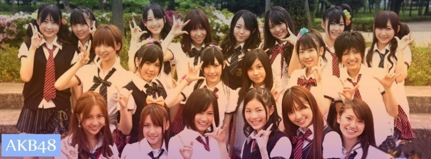 akb48 2 facebook cover