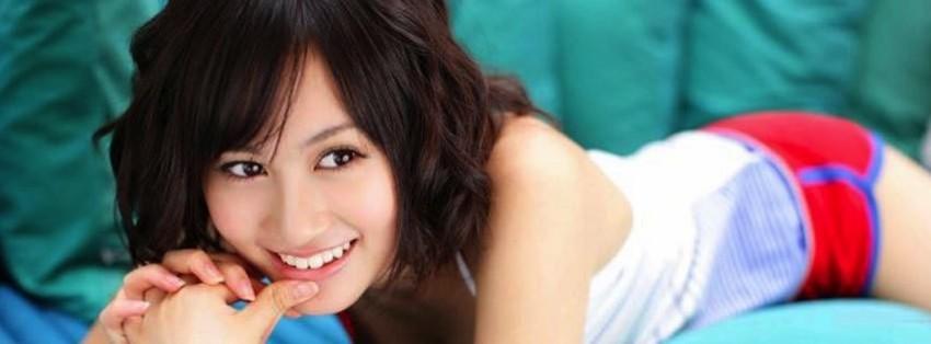 akb48 atsuko maeda 2 facebook cover