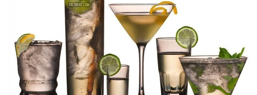 alcoholic drinks facebook cover
