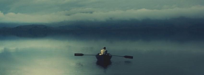 Alone Canoe Facebook Cover