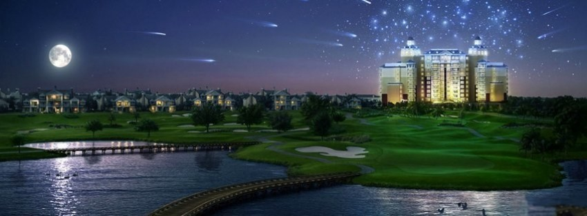 amazing golf course facebook cover