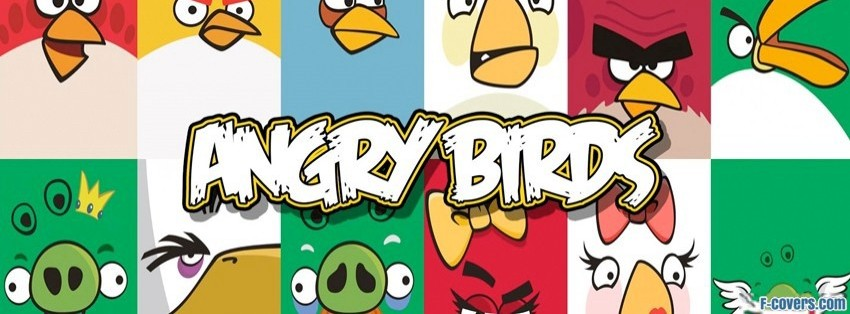 angry birds three facebook cover