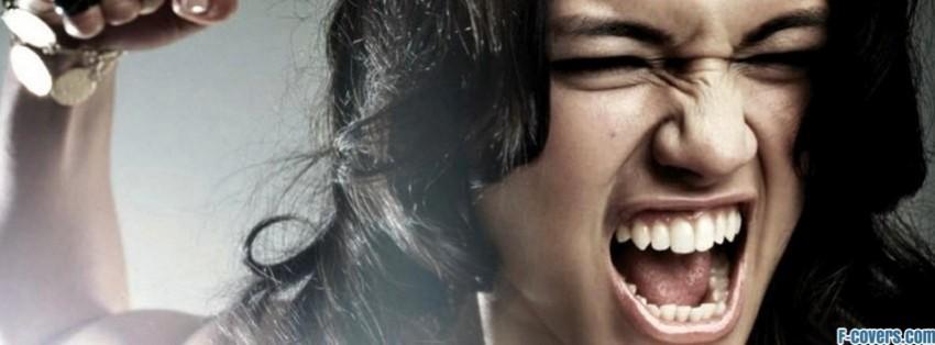 pics of angry girl