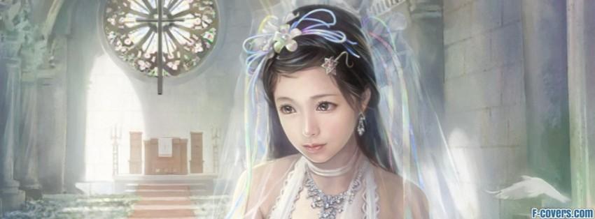 anime bride chen lin facebook cover