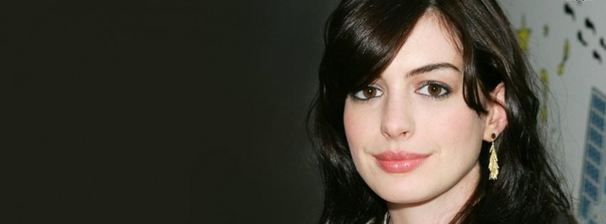anne hathaway Facebook Cover timeline photo banner for fb Anne Hathaway Facebook
