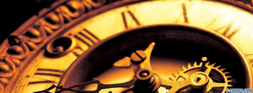 antique mechanical clock Facebook Cover timeline photo banner for fb