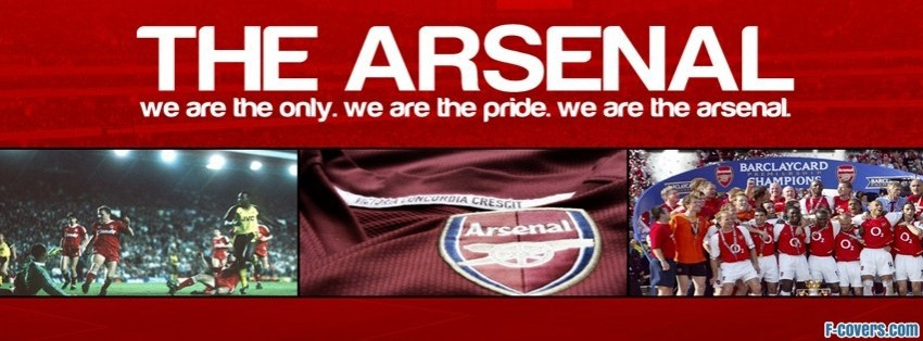 arsenal fc facebook cover