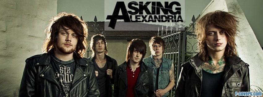 asking alexandria facebook cover