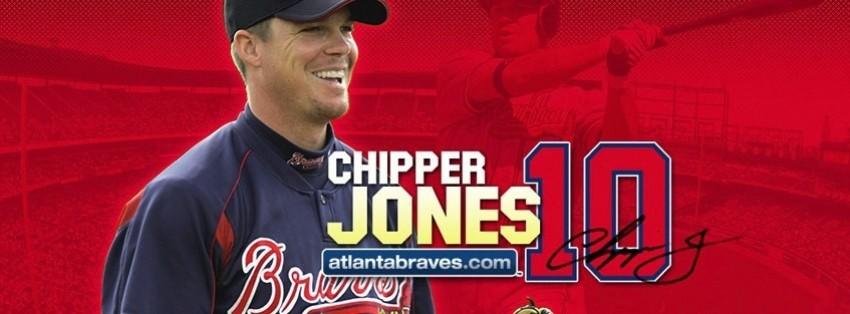 atlanta braves chipper jones facebook cover
