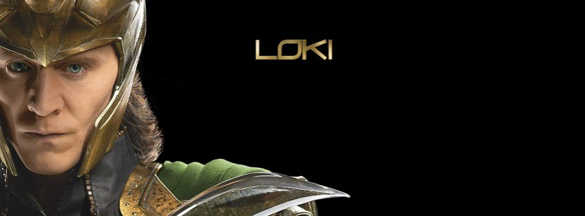 Avengers Facebook Cover Avengers Loki Facebook Cover
