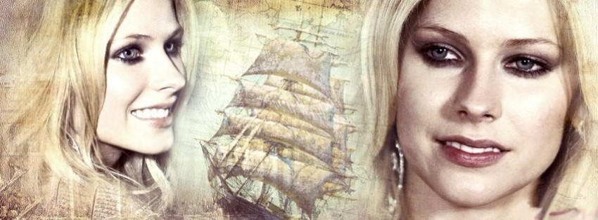 avril lavigne 2 facebook cover