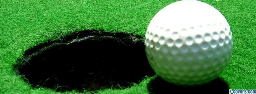ball and hole facebook cover