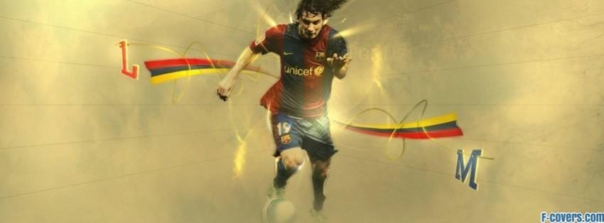 barcelona lionel messi facebook cover