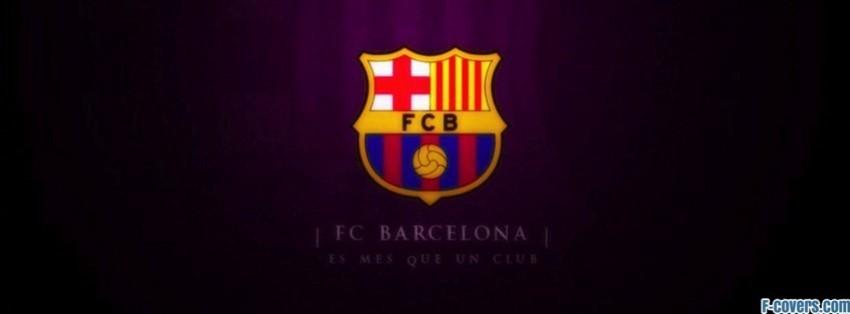 barcelona logo facebook cover