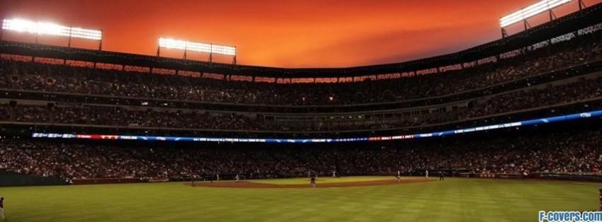 baseball stadium facebook cover