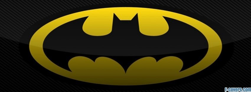 batman logo 2 facebook cover