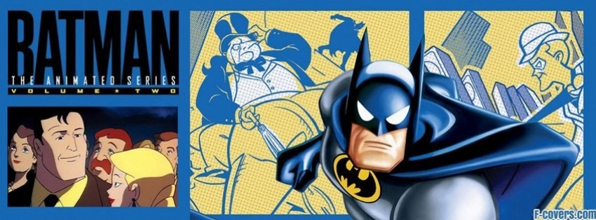 batman the animated series facebook cover