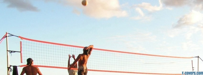 beach game facebook cover