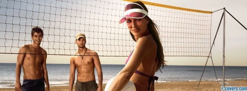 beach volleyball 1 facebook cover