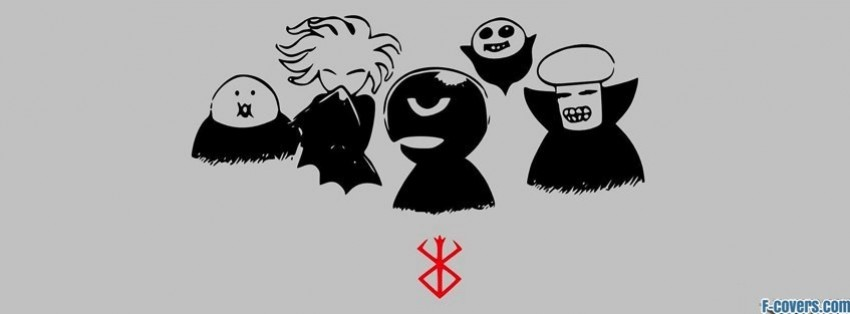Berserk Anime Chibi Facebook Cover