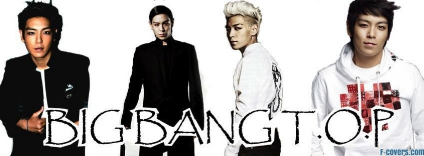 big bang top 1 facebook cover