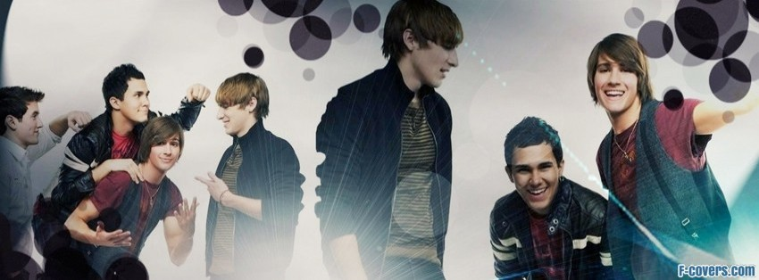 big time rush facebook cover
