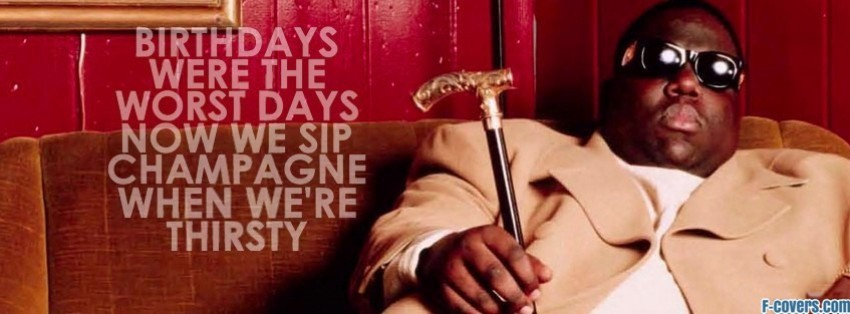 biggie birthday facebook cover
