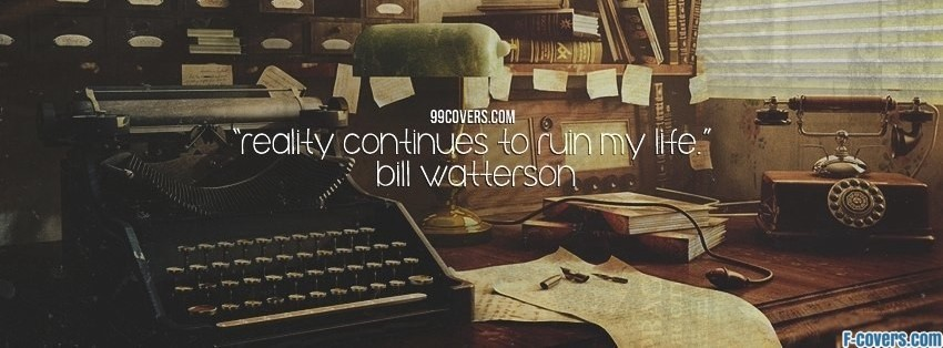 bill watterson facebook cover