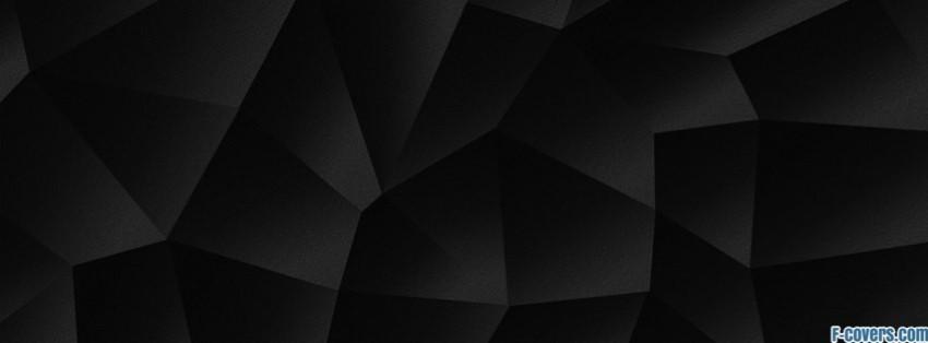 Black Shapes Pattern Facebook Cover Timeline Photo Banner For Fb Beauteous Black Pattern