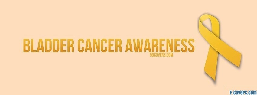 bladder cancer awareness facebook cover