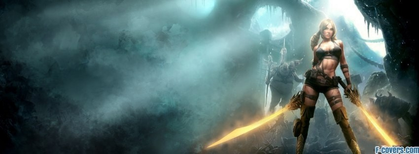 blades of time fantasy art facebook cover