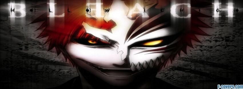 bleach ichigo kurosaki anime facebook cover