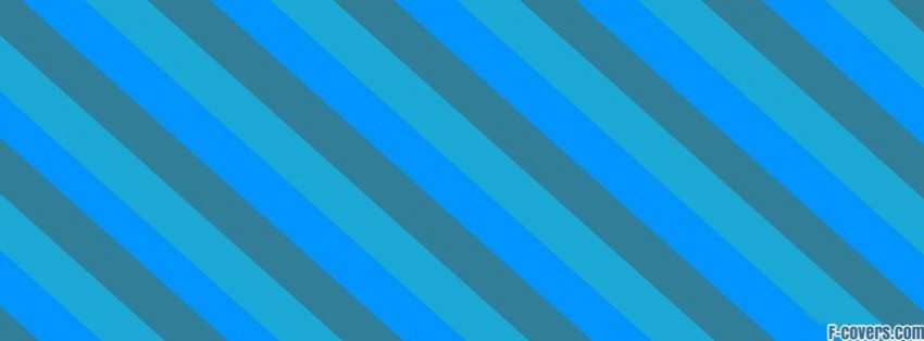 blue minimalistic simple stripes facebook cover