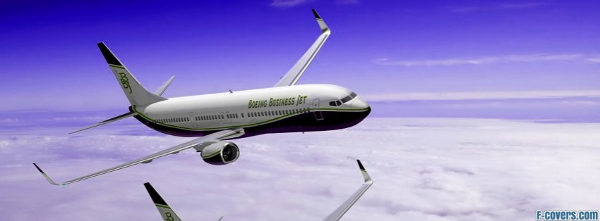 boeing 737 bbj facebook cover