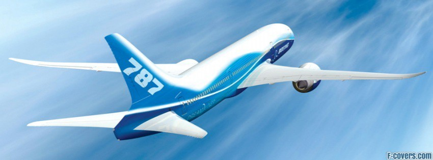 boeing 787 dreamliner facebook cover