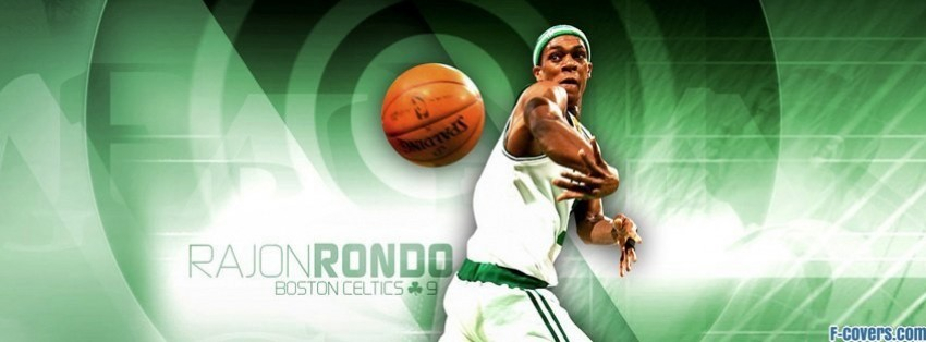 boston celtics rajon rondo facebook cover