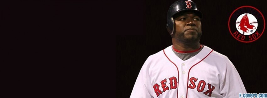 boston red sox big papi david ortiz facebook cover