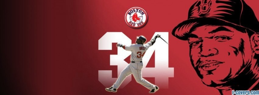 boston red sox david ortiz facebook cover