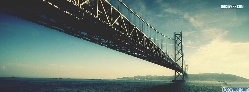 bridge scenery Facebook Cover timeline photo banner for fb