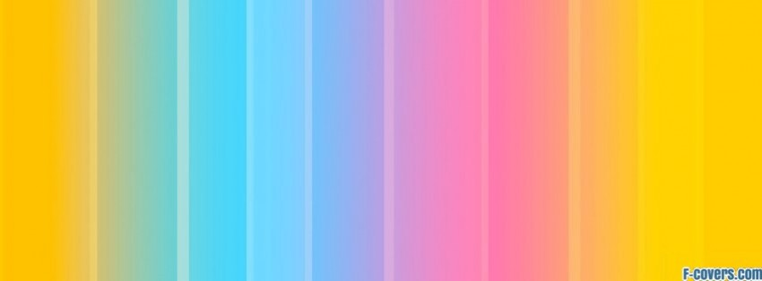 bright stripe pattern facebook cover